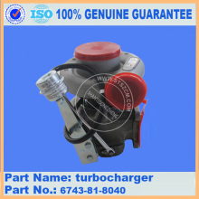 PC300-7 TURBOCHARGER 6743-81-8040