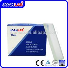 Diapositives de microscope JOANLAB 7101 pour usage de laboratoire