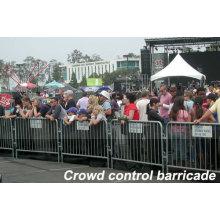 Crowd Control Interlocking Steel Barricade