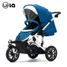 Premium Leather Meaterial  Air Wheel Baby Stroller