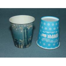 Única parede descartável papel quente café copos 8 oz