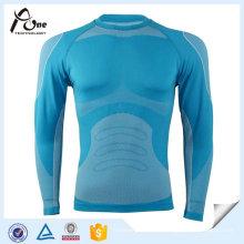 Männer abnehmen Body Shaper Long Sleeve Thermal Unterhemd