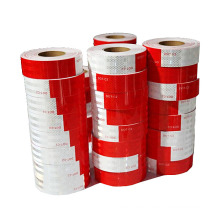 Reflective Tape Adhesive Light Reflective Film Red & White