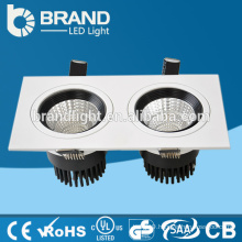 CE RoHS China Factory Two Heads 2*10W rectangular led downlight