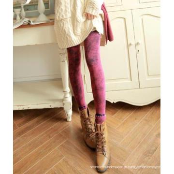 Imitação perfeita de inverno Leggings Jean Cashmere engrossado collants