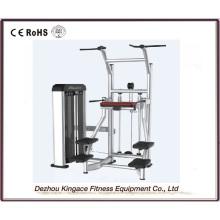 Équipement commercial de gymnase Chin / DIP Machine