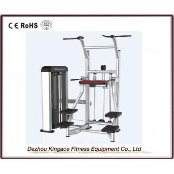 Máquina de Chin / DIP asistida por equipos de gimnasio comercial