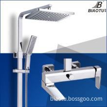 2014 chrome brass shower sets bath taps shower faucet 1018S