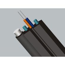 Câble autoportant de fibre antidérapante