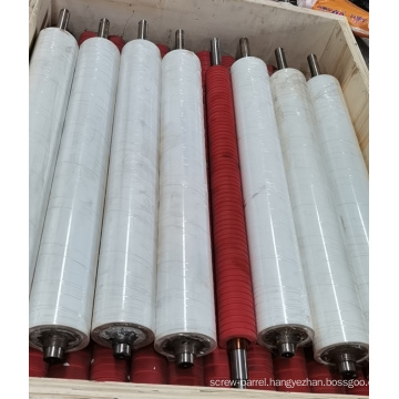 rubber silicone roller for bag making machine