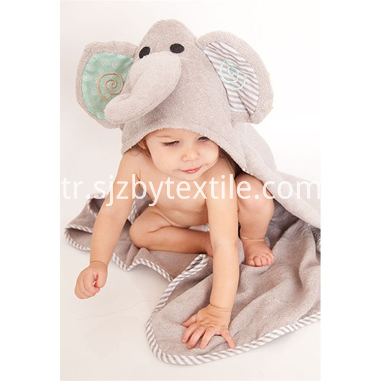 Bamboo Baby Towel With Hood
