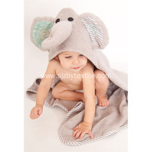 Soft Absorbent Organic Baby Bamboo Hooded Towel