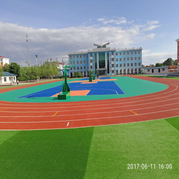 Utomhus Interlocking Modular Sports Court Tile