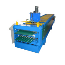 Metal Corrugated Sheets Double Deck Roll Forming Machine