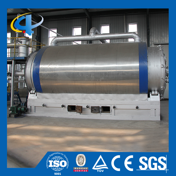 High Output Pyrolysis Waste Management