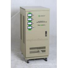 Custom Tns-20k Trois phases Série Entièrement automatique Régulateur / Stabilisateur de tension CA