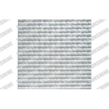 """Bathroom Plastic Textured Wall Panels With Grooves Patterns 19.7x19.7"""""""