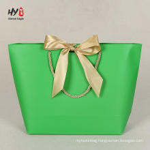 New design exquisite top paper shopping bag