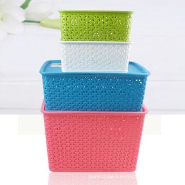 Weben Plastikaufbewahrungsbehälter für Haus (SLSN004)
