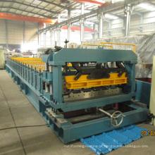 Rolo da telha hidráulica da imprensa que forma a máquina