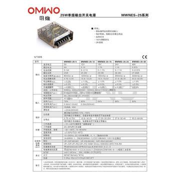 Все виды 24V 25W LED Driver Nes Switching Power Supply