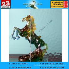 3-8mm klares Aqualite gemustertes Glas mit AS / NZS2208: 1996