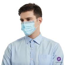 3 слойная нетканая биомасса графеновая одноразовая маска