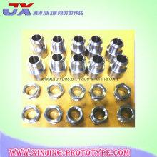 Costume do fabricante todos os modelos das peças de giro do CNC do metal / plástico
