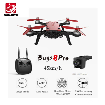 Amazing drone MJX Bugs 8 PRO High speed Brushless Quadcopter With 3D Flips Racing rc Drone Toy Aircraft VS MJX Bugs 8