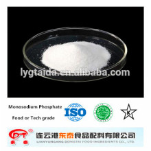 Fosfato monosódico de grado alimenticio anhidro