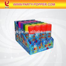 El aire comprimido reutilizable en línea más barato de las decoraciones del partido de la India adulta puede a granel rosado tonto de la secuencia