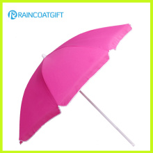 Guarda-chuva de praia ao ar livre grande por atacado da promoção personalizada do projeto