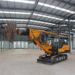 Pile Earth auger bore drilling rig machine