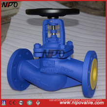 DIN Flanged End Cast Steel Globe Valve