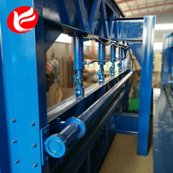 Cnc hydraulic manual steel plate bending machine