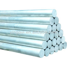 6101 barre ronde en alliage d'aluminium frotté