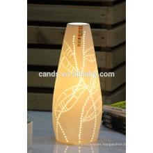 Lámpara de mesa de restaurante de cerámica de alta calidad