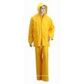 Colorful PVC / Polyester Waterproof Adult Rainwear / Rainsuit