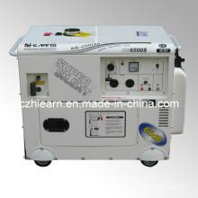 Generador portable de la gasolina 5kw (GG6500S)
