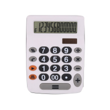 12 Digit Dual Power Calculator with Big Button