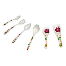 Spoon Set, Made of 100% Melamine, FDA Certified, Suitable for Promotional and Gift Purposes