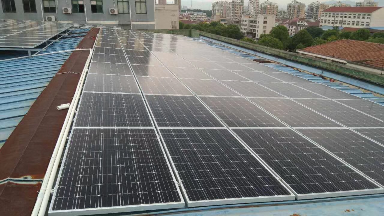 200KW PV power plant