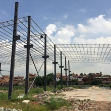 100x100 Stahlgebäude Stahlkonstruktion Lagergebäude