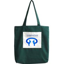 कस्टम कैनवास कंधे बैग बड़ी क्षमता हाथ कपड़ा बैग
