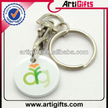 Promotional coin holder plastic