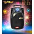 12-дюймовый перезаряженный профессиональный сабвуфер для сабвуфера Встроенный беспроводной микрофон Bluetooth SL-12-02