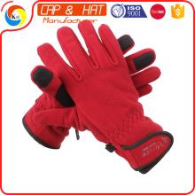 2015 Heiße Verkäufe Telefon e Touch Art und Weisewinter Schirm-Handschuhe mit kundenspezifischem FIRMENZEICHEN