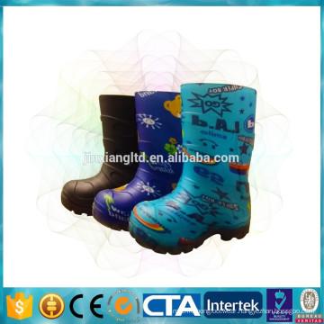 JX-916K Waterproof kids warm rain boots