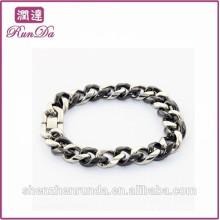 Alibaba vente chaude fait votre propre bracelet en acier inoxydable