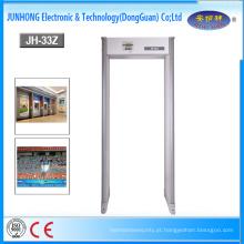 Caminhada portátil de Dooor do detector de metais através do detector de metais do quadro de porta do detector de metais